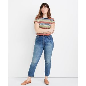 Madewell Rigid Stovepipe Jeans Portsmouth NWOT